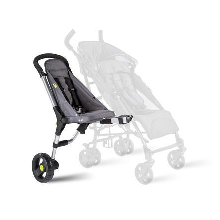 BuggyPod Sidecar iO para cochecitos con dos tubos de chasis gruesos