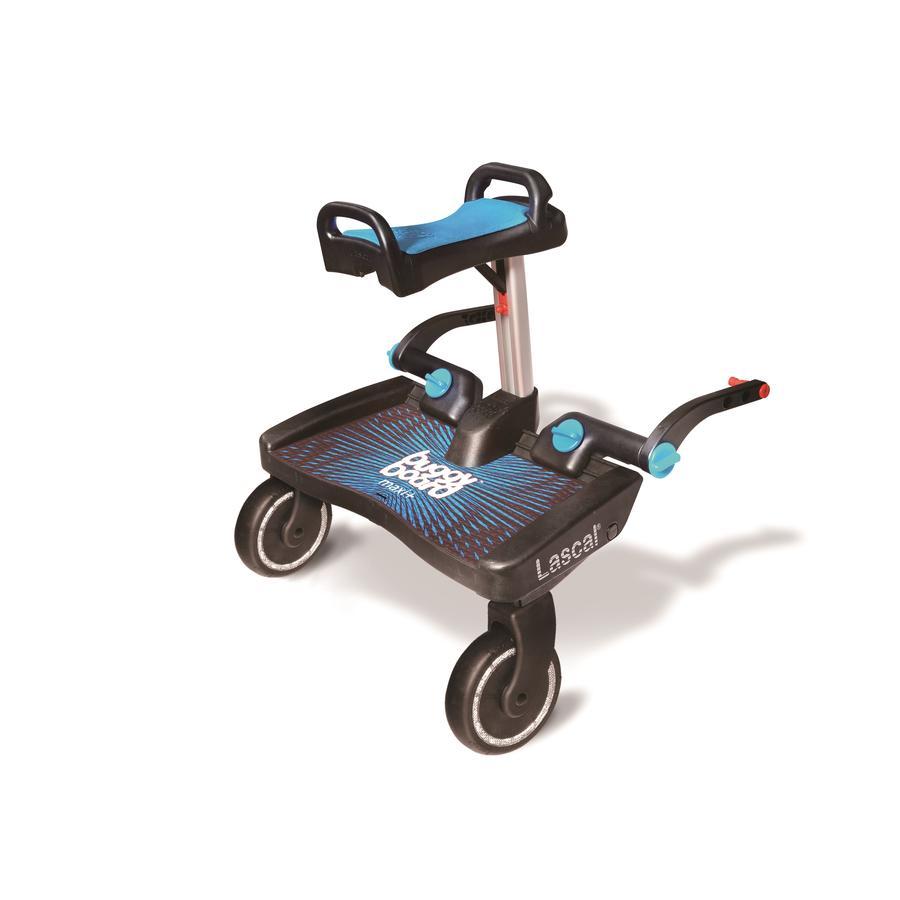 Lascal Planche à roulettes poussette Buggy Board Maxi Plus siège bleu 2019