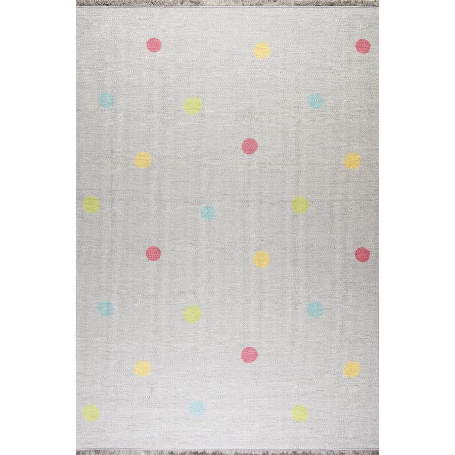 Tappeti Love you Dots Happy tappeto LIVONE gioco e bambini Tappeti Love you Dots grigio argento/multi, 140 x 190 cm
