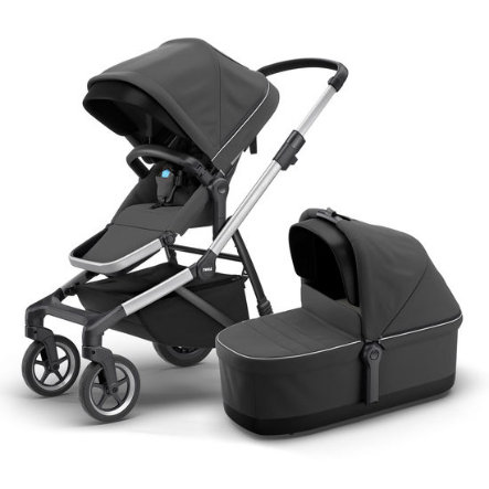 THULE Sleek Kombibarnevogn shadow grey