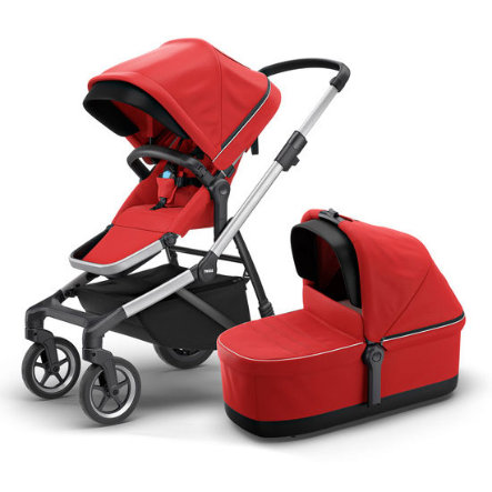 THULE Combi-kinderwagen Sleek Energy Red