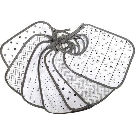 HAT &   CO Bib 7-Pack grå