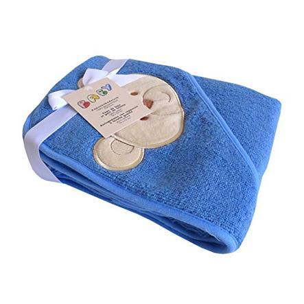 HAT &   CO Hupullinen pyyhe sininen