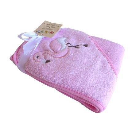 HÜTTE & CO Badetuch pink