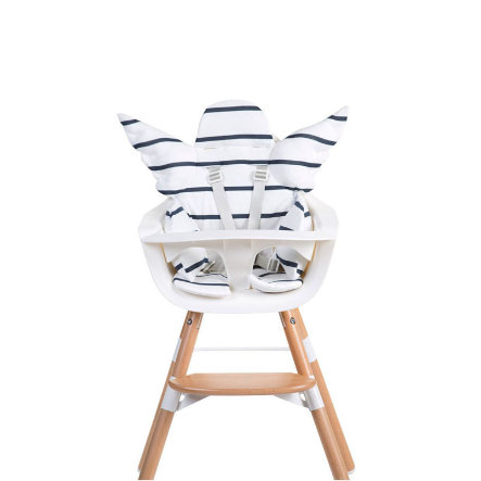 CHILDHOME Coussin d'assise chaise haute universel ange marin blanc