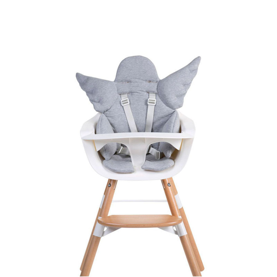 CHILDHOME Coussin d'assise chaise haute universel ange gris