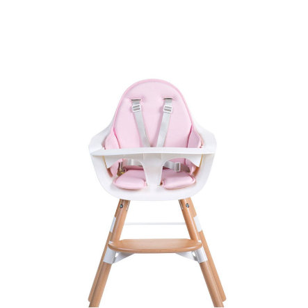 CHILDHOME Coussin d'assise chaise haute Evolu rose