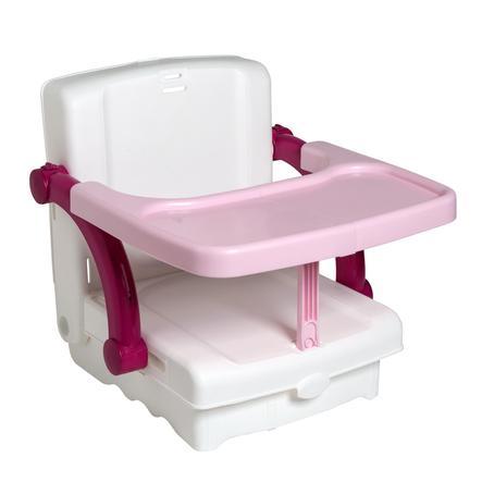 Rotho Babydesign Kidskit Sitzerhöhung Hi Seat weiß / rose / berry