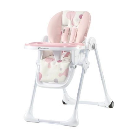 Kinderkraft Chaise Haute Enfant Volutive Yummy Rose
