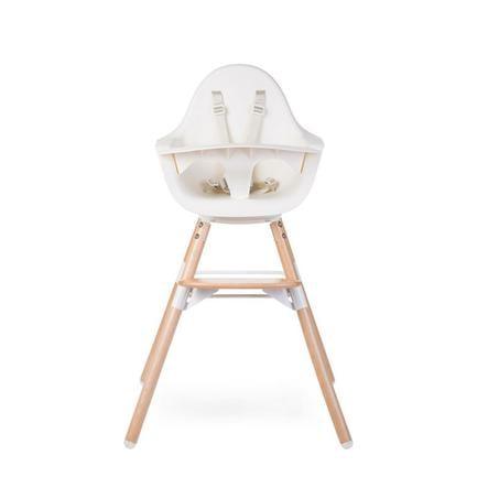 childhome chaise haute enfant evolu 2 en 1 bois. Black Bedroom Furniture Sets. Home Design Ideas