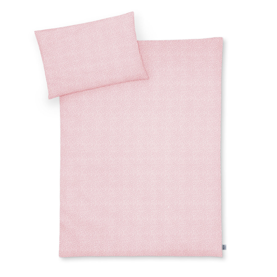 JULIUS ZÖLLNER Ropa de cama Tiny Square s Blush 100 x 135 cm