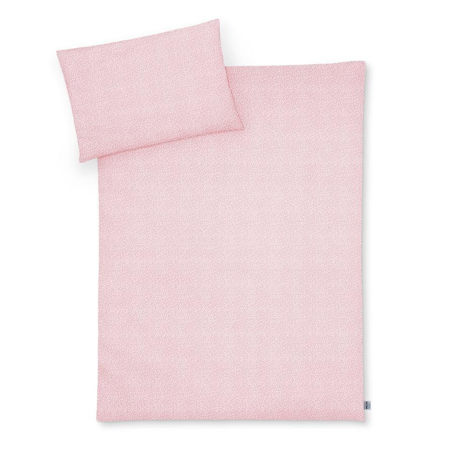 JULIUS ZÖLLNER Bettwäsche Tiny Squares Blush 100 x 135 cm