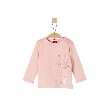 s.Oliver Girls Langermet skjorte rosa swing swan