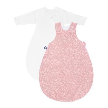 JULIUS ZÖLLNER Babyschlafsack Cosy Tiny Squares Blush