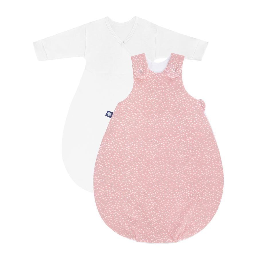 JULIUS ZÖLLNER Gigoteuse bébé Cosy Tiny Squares blush rose