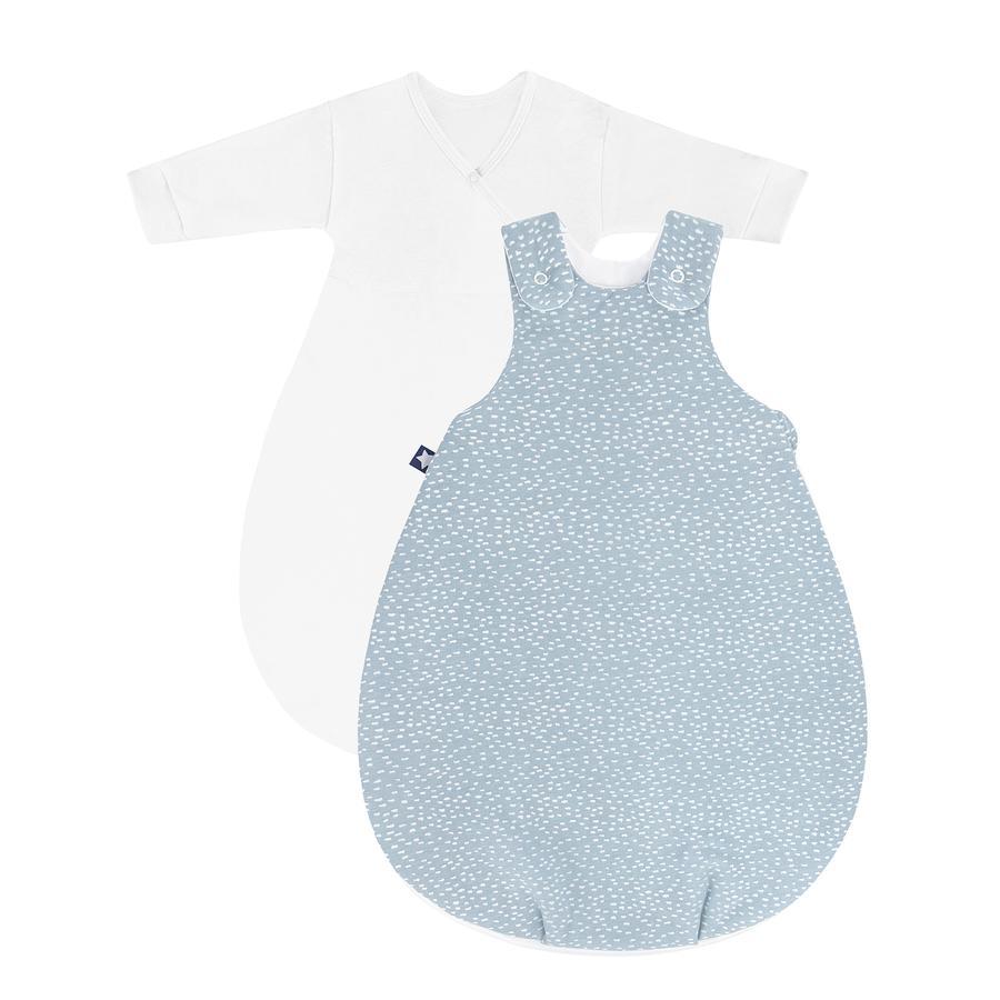 JULIUS ZÖLLNER Babyschlafsack Cosy Tiny Squares Greenery