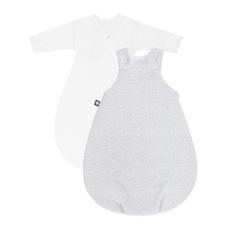 JULIUS ZÖLLNER Babyschlafsack Cosy Tiny Squares Grey