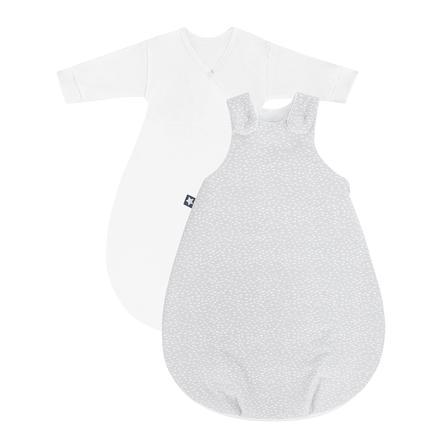JULIUS ZÖLLNER Gigoteuse bébé Cosy Tiny Squares gris