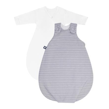JULIUS ZÖLLNER Baby sovepose Koselige grå striper