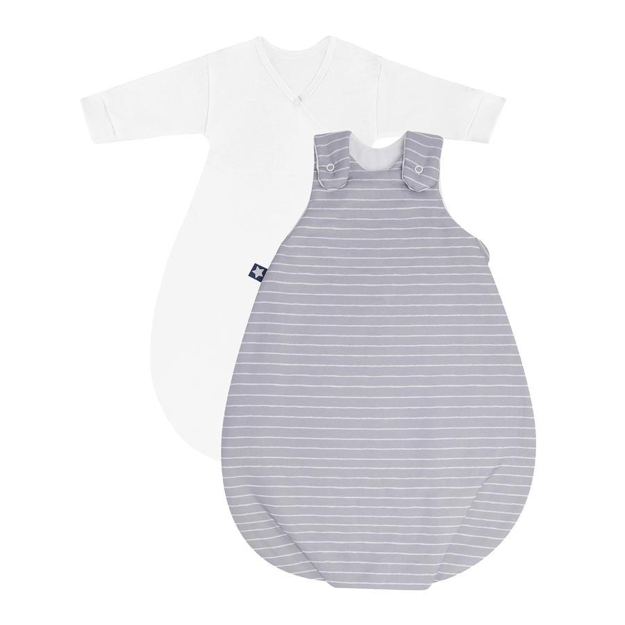 JULIUS ZÖLLNER Babyschlafsack Cosy Grey Stripes