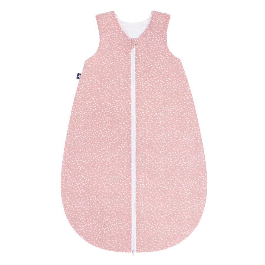 JULIUS ZÖLLNER Jersey Sommerschlafsack Tiny Squares Blush
