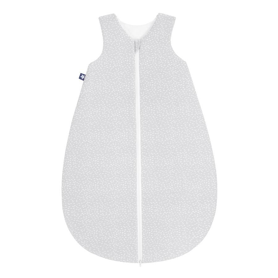 JULIUS ZÖLLNER Jersey Sommerschlafsack Tiny Squares Grey