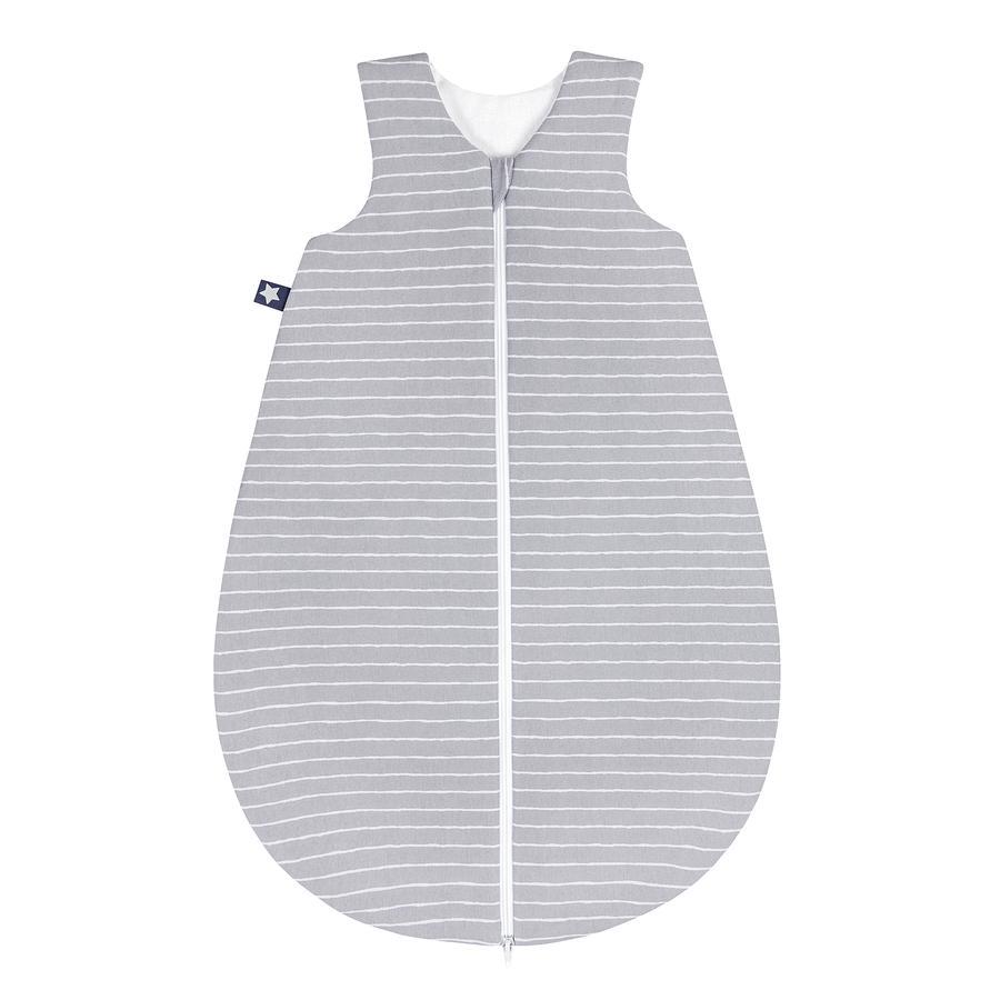 JULIUS ZÖLLNER Jersey Sommerschlafsack Grey Stripes