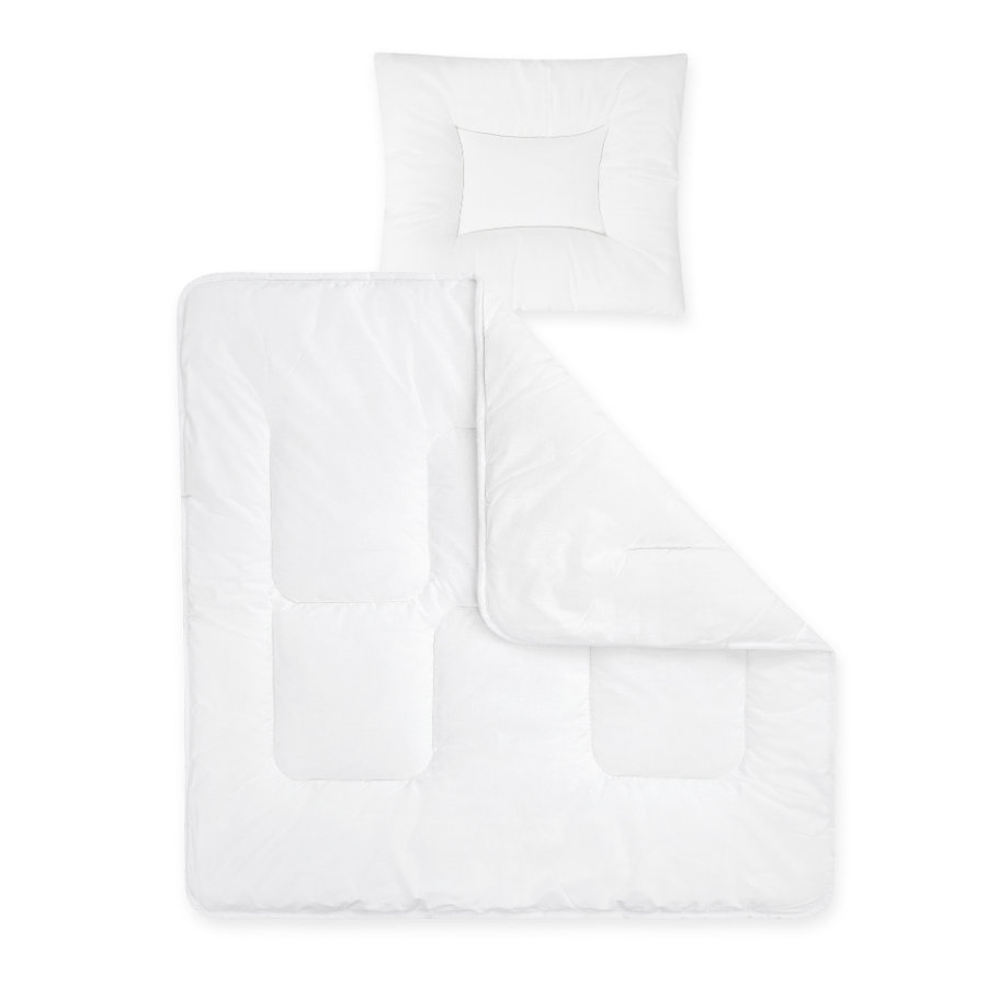 JULIUS ZÖLLNER Täcke och kudde Basic 35 x 40 cm / 80 x 80 cm