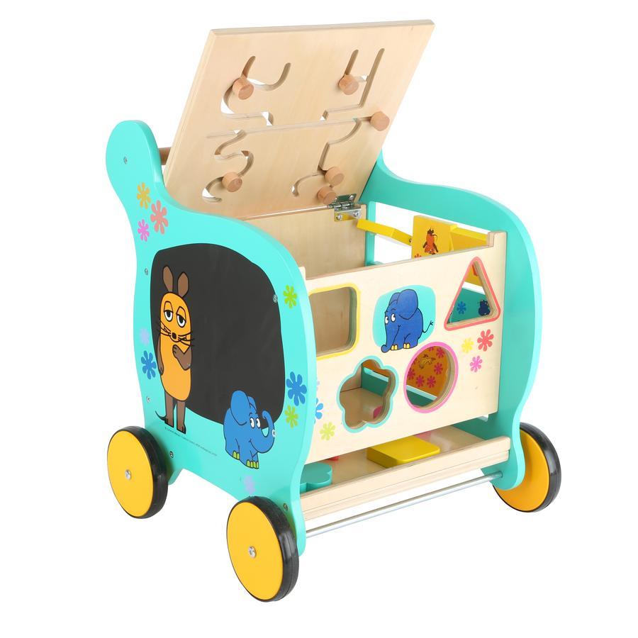 small foot® Die Maus Lauflernwagen mit Elefanten