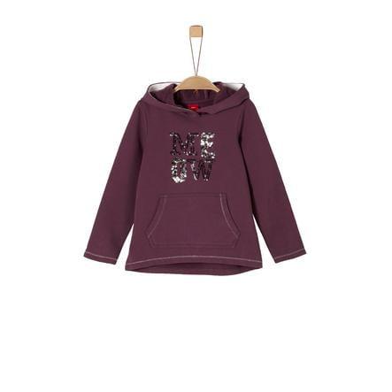 s.Oliver Girls Sweatshirt purple