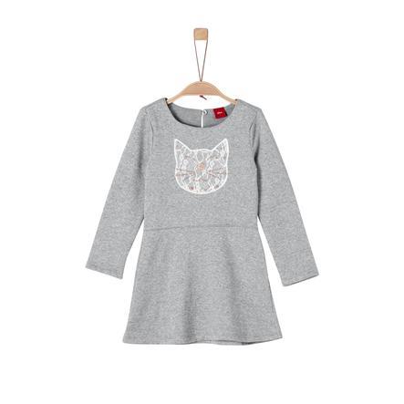 s.Oliver Girl s dress grey melange s dress melange