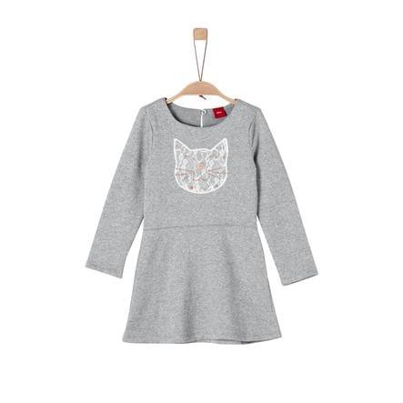 s.Oliver Girl s jurk grijs melange