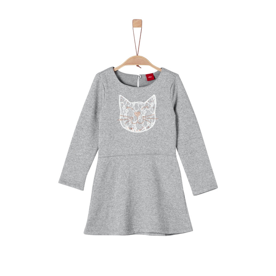 s.Oliver Girl abito s grigio melange grigio melange