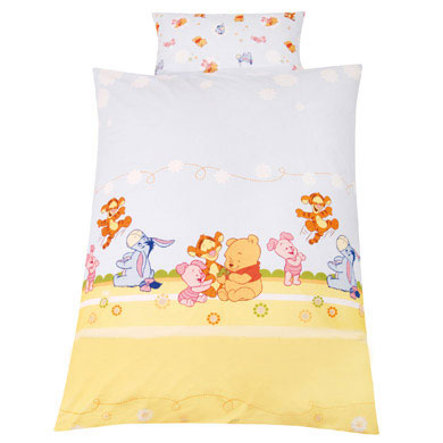 ZÖLLNER Bed Linens 100 x 135 cm Baby Pooh and Friends