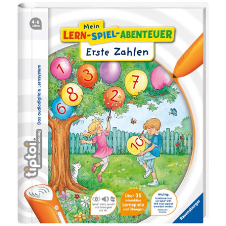 RAVENSBURGER tiptoi - Mein Lern-Spiel-Abenteuer: Erste Zahlen