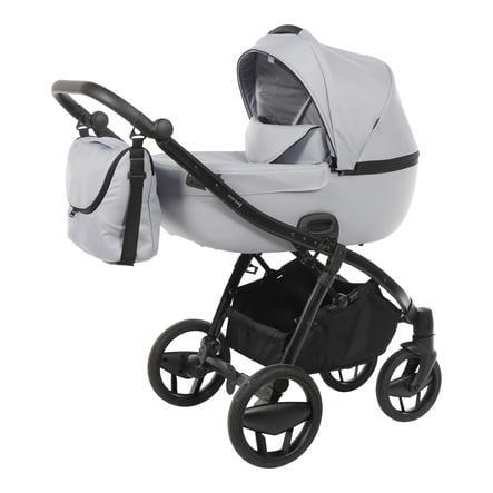 Knorr-Baby Passeggino duo Piquetto Uni grigio-grigio chiaro