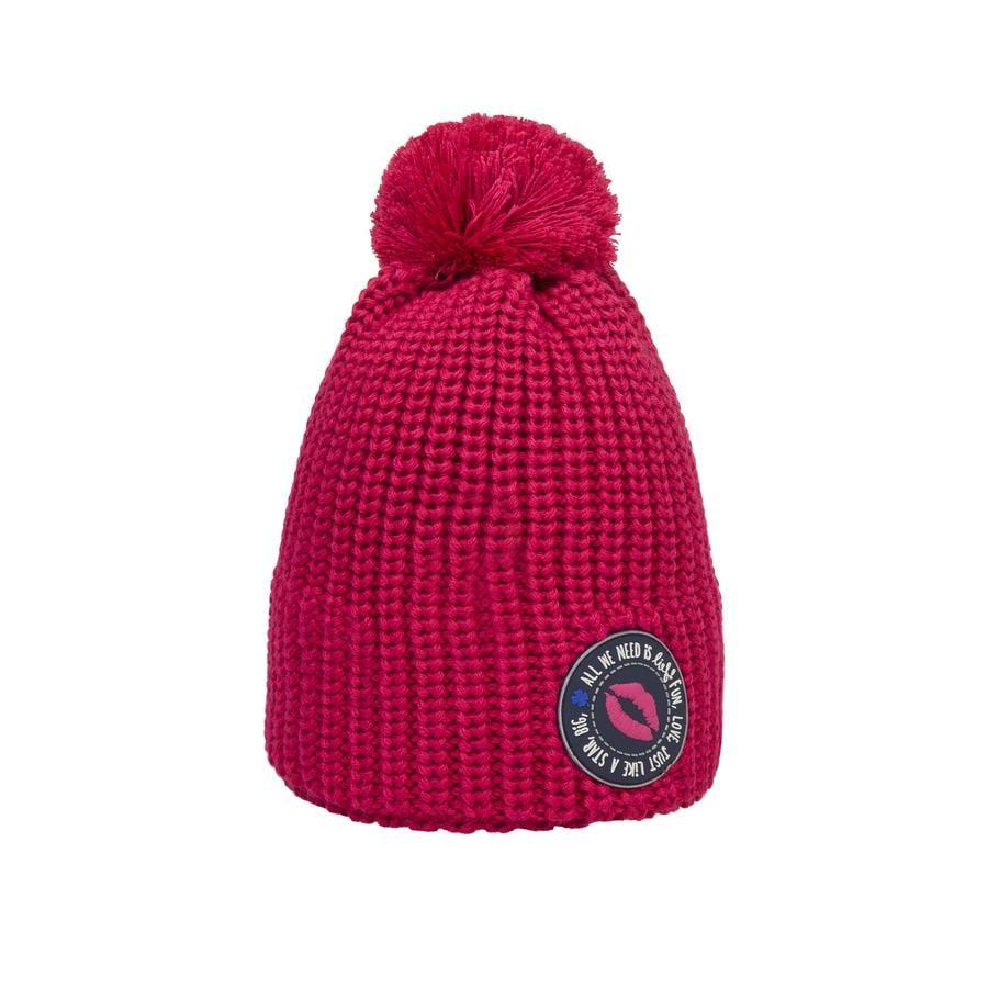 Döll cappello a maglia bobble hat, rosa/rosa
