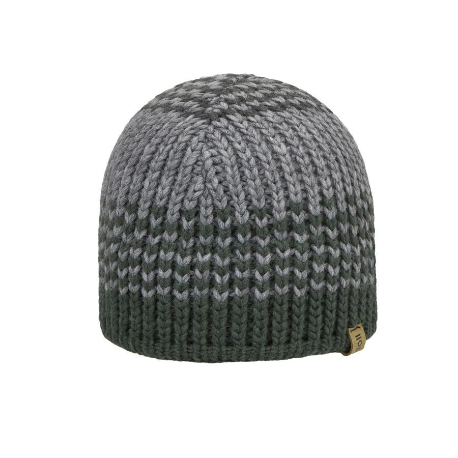 Döll Boys Chapeau de pot tricoté, gris-vert