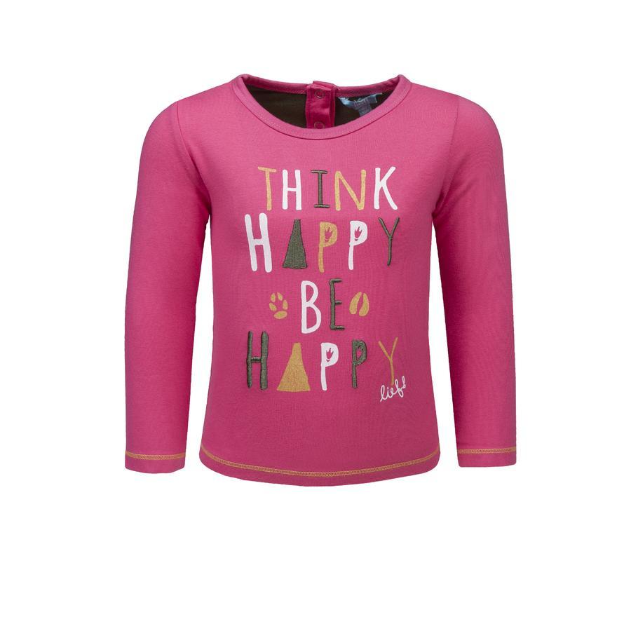lief! Girls Langarmshirt, pink