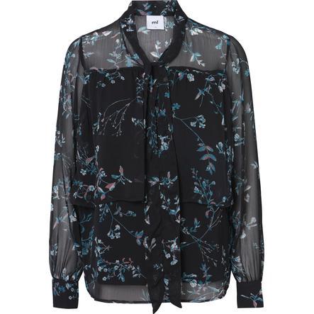 mamalicious Bluzka dla kobiet karmiących MLSAMI JUNE Black