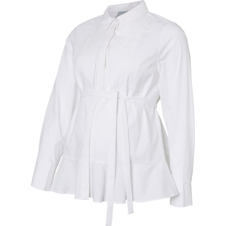 mama;licious Stillbluse MLTONIA Bright White