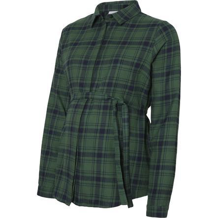 Mamalicious těhotenská košile MLROSALBA Navy Blazer