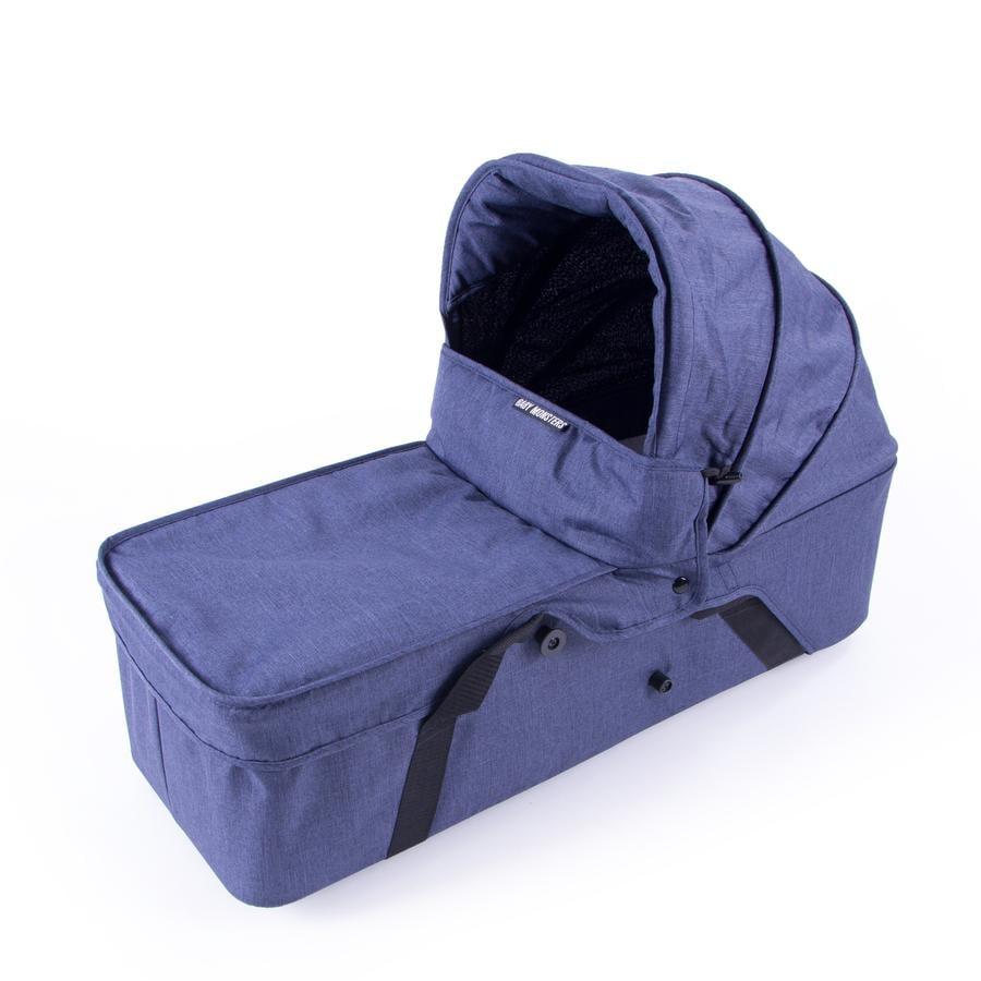 BABY MONSTERS Kinderwagenaufsatz Side für Easy Twin 3.0S Jeans Limited Edition