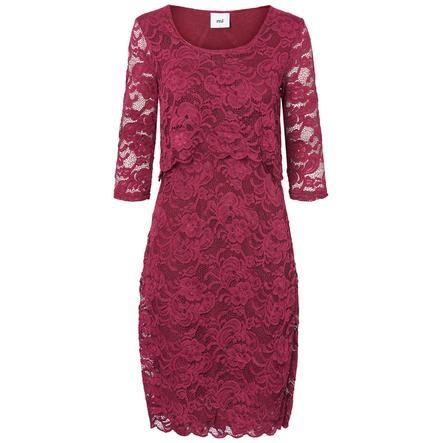 mama licious Kojicí šaty MLMIVANE Raspberry Radiance