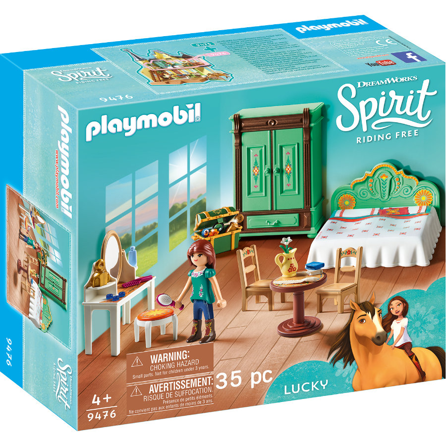 PLAYMOBIL® Spirit Riding Free Cameretta di Lucky 9476