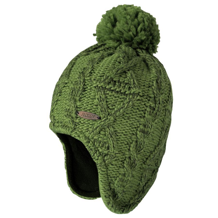 maximo Boys Inca casquette grossière herbe à tricoter/noir