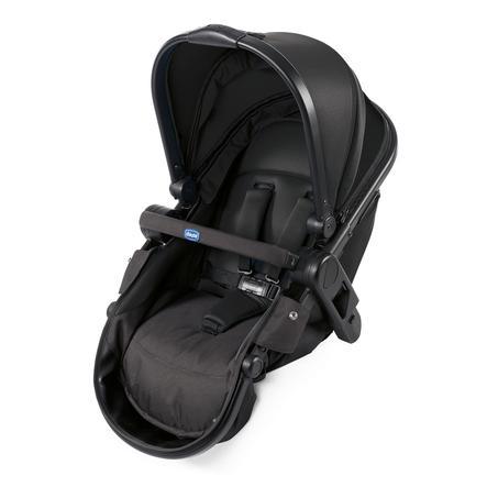 chicco Tweede stoel voor Kinderwagen Fully Black Night