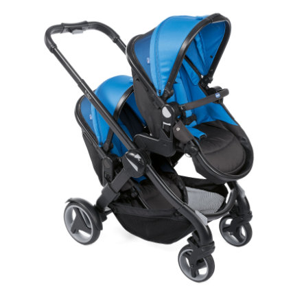 chicco Fully Twin søskensportsvogn Power Blue