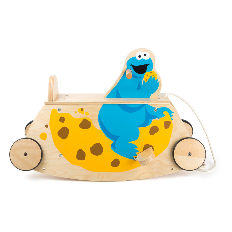 small foot® Gyngevippe Sesamgade Cookie Monster