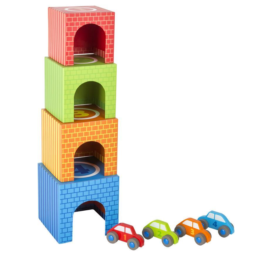 small foot® Cubi da impilare incl. Macchinine